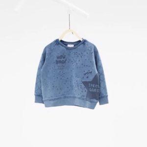 Zara baby boy sweatshirt